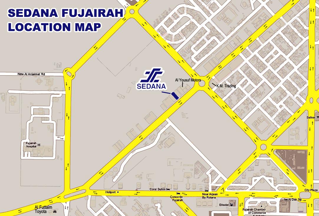 SEDANA : Sharjah Road Map