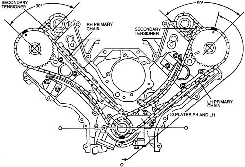 mercury marauder wiring diagram set 2003 2004 mercury marauder 4 6 timing chain set image details  set 2003 2004 mercury marauder 4 6