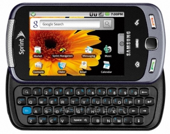 Sprint HTC EVO Shift 4G
