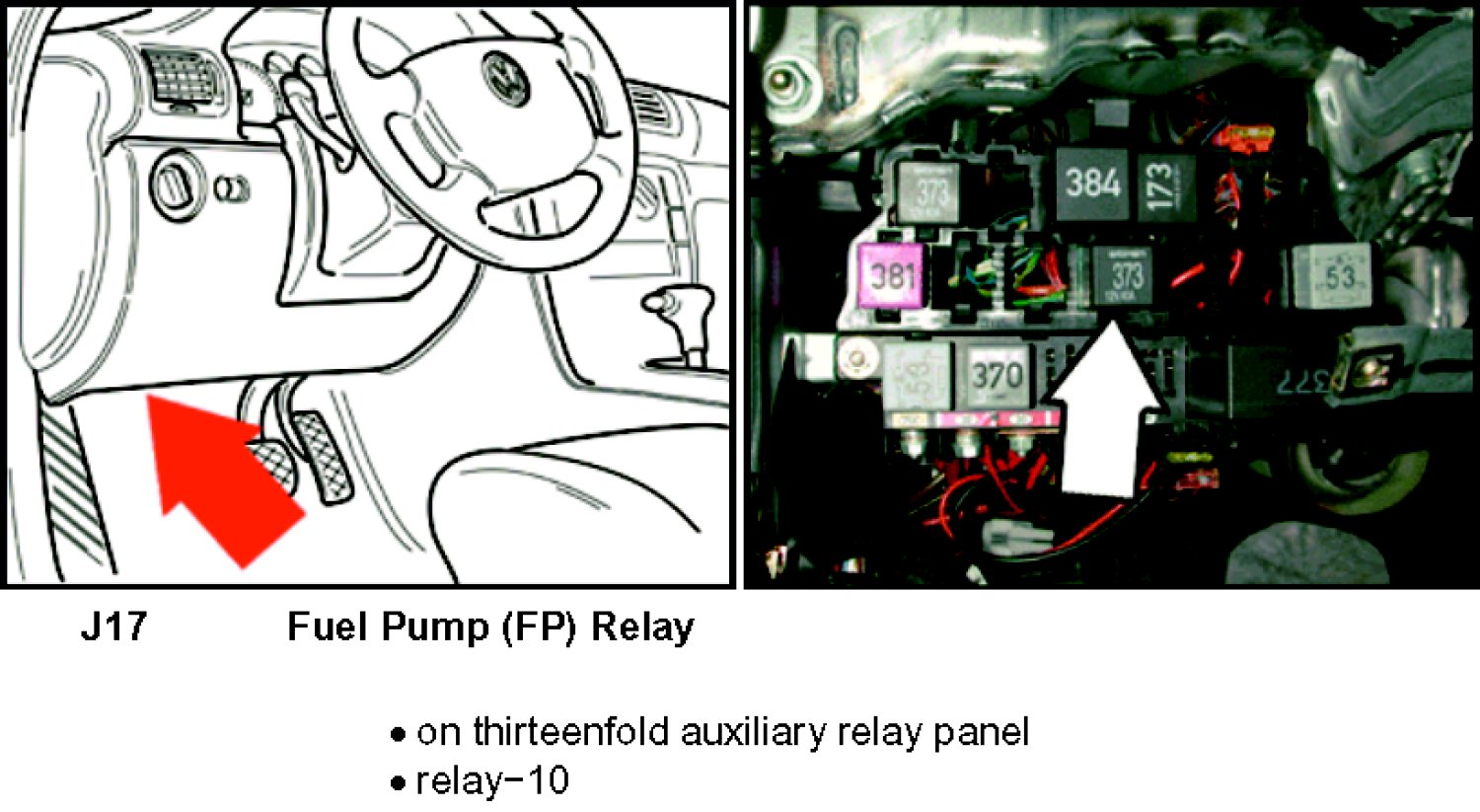Starter Relay Location Audi 2007