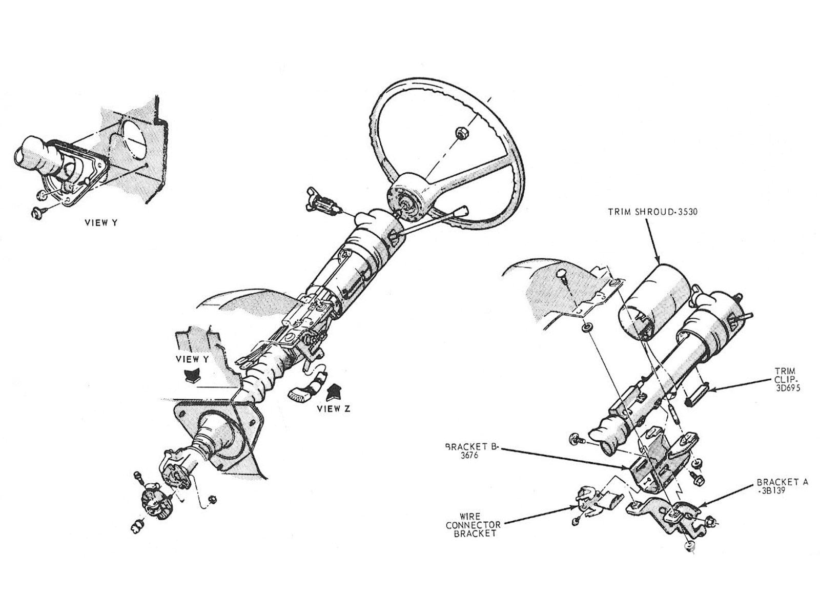 jeep cj7 tilt steering column image details 1963 Chevy Steering Wheel steering column