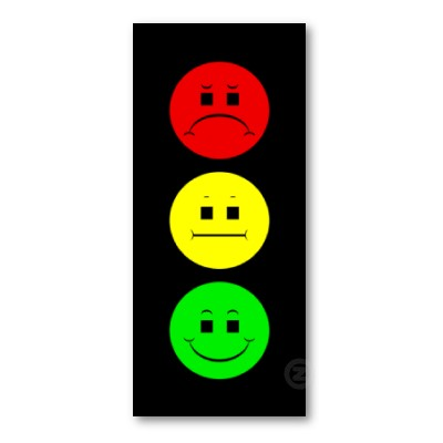Stop Light Lamp