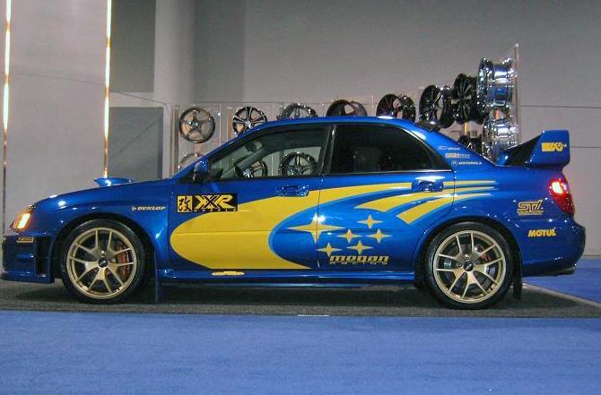Subaru Forester On Rims