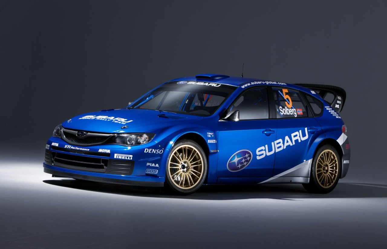 Subaru Impreza WRX STI Rally Car