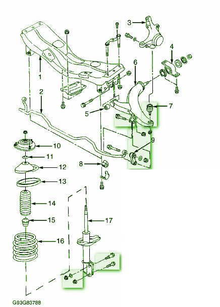 Subaru Legacy 2003 Secondary Interior Fuse Box with Fuses Inc   eBay
