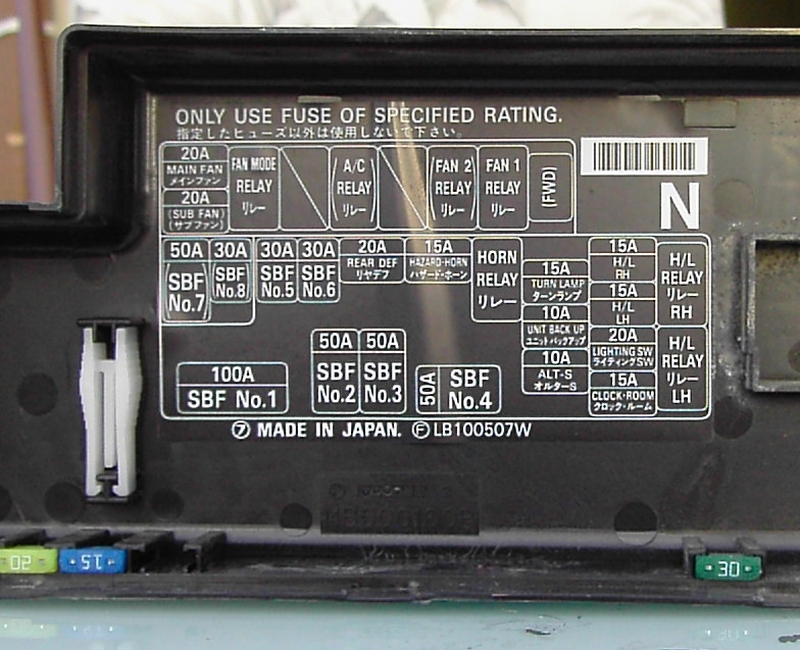 1999 Subaru Forester Fuse Box Diagram on 1999 mercury tracer engine diagram