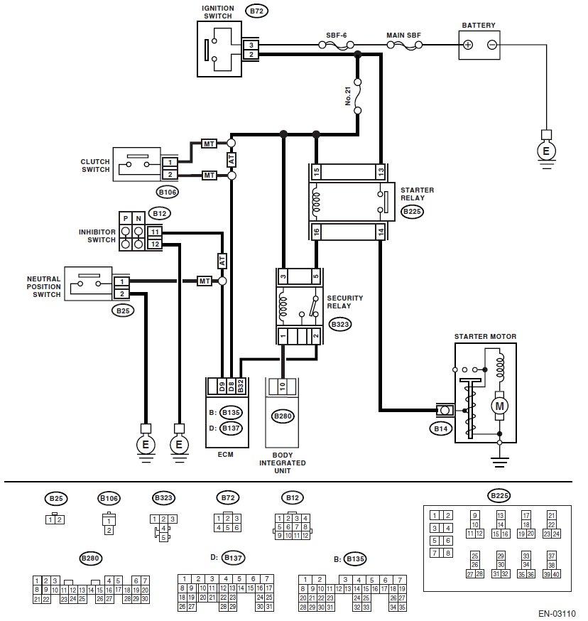 2002 Subaru Outback Fuel Pump