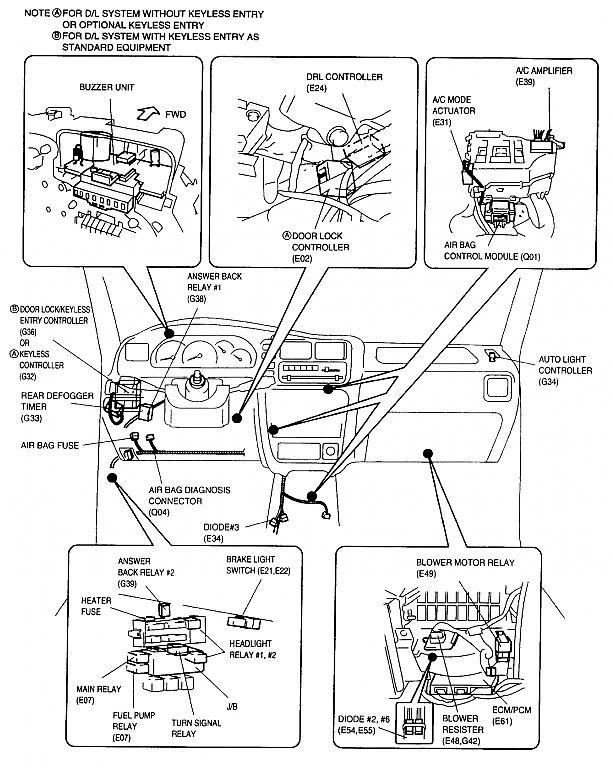 Suzuki Grand Vitara Fuel Pump Relay Location