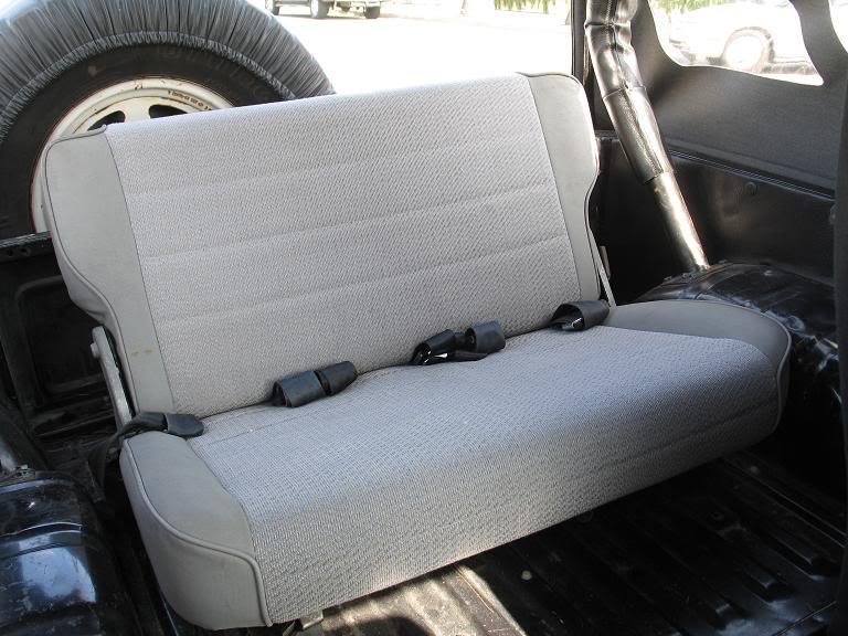 Suzuki Samurai Back Seat