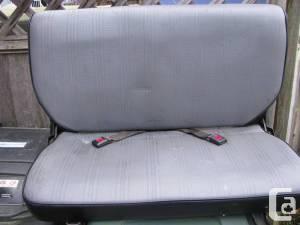 Suzuki Samurai Rear Seat Cover