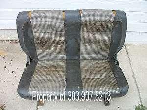 Suzuki Samurai Seat Covers