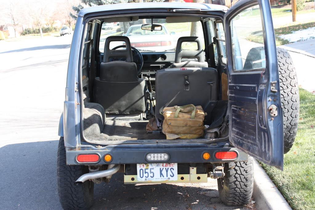 Suzuki Samurai Seats