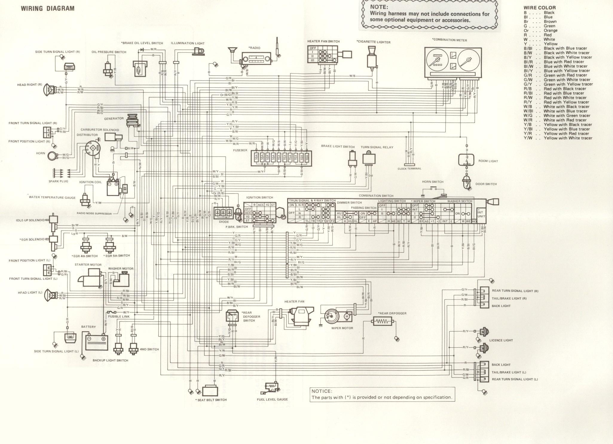 suzuki samurai wiringdiagram LJDoMre suzuki lights wiring diagram wiring diagram shrutiradio Suzuki Motorcycle Wiring Diagrams at bayanpartner.co