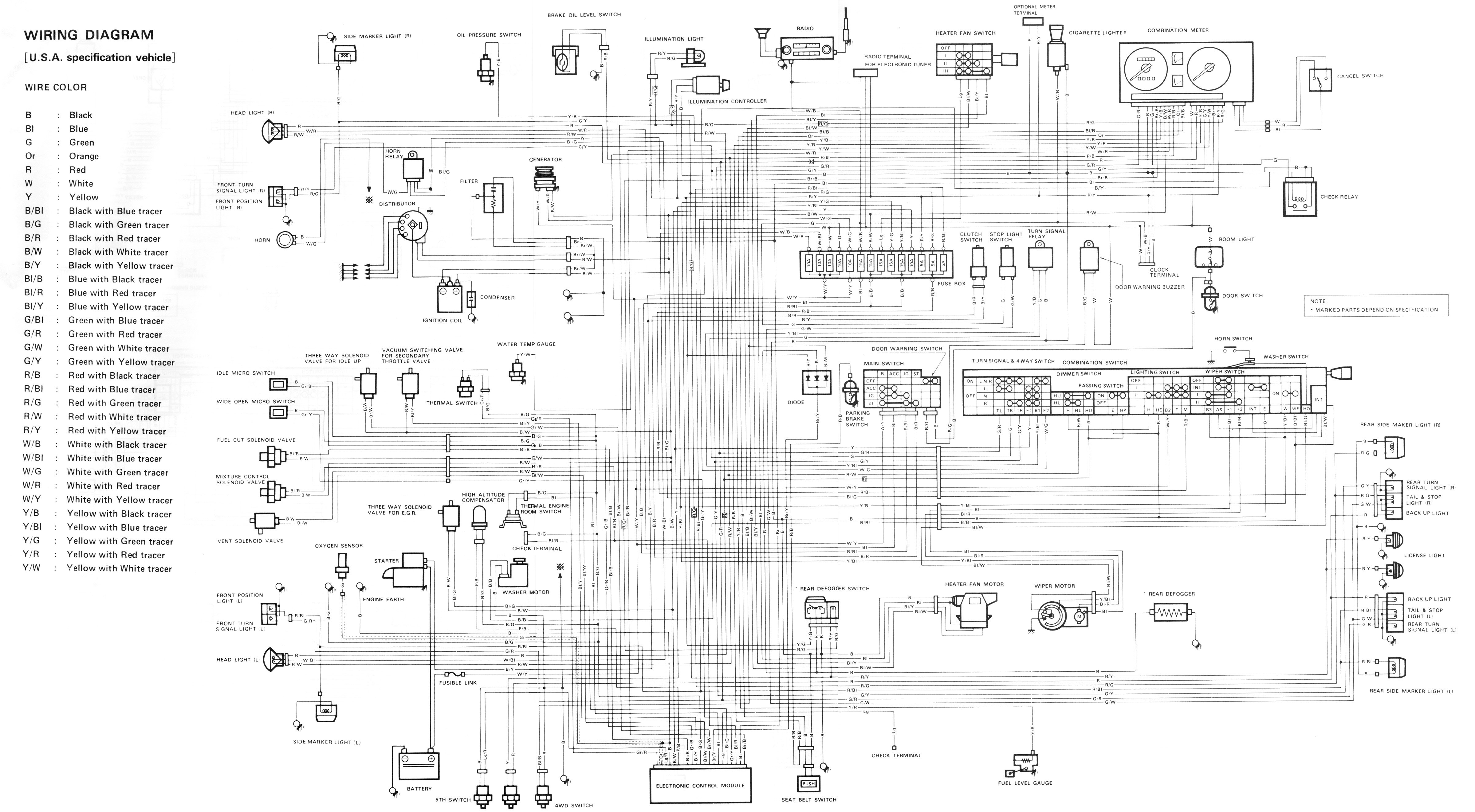 Suzuki Samurai WiringDiagram