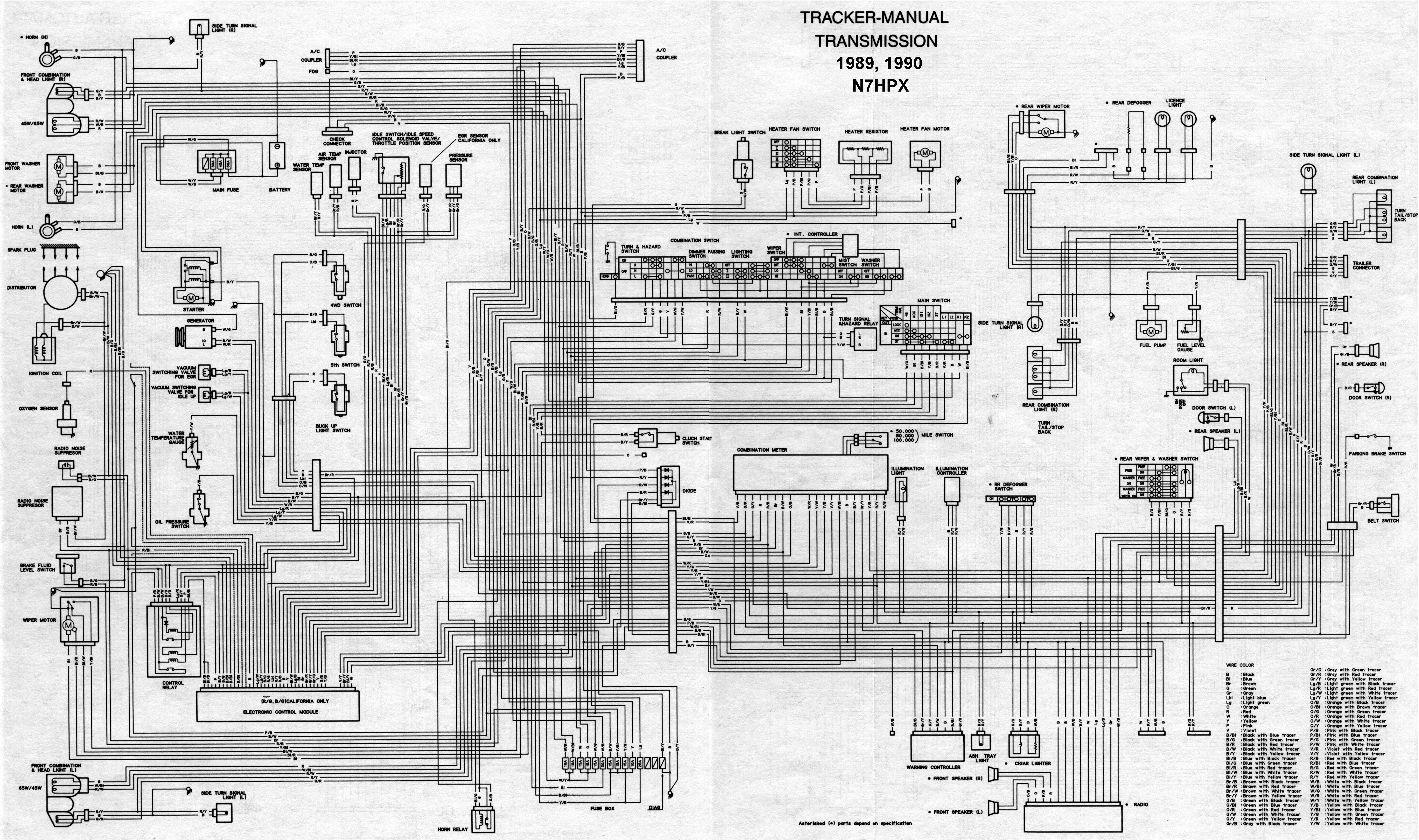 1997 suzuki sidekick wiring diagram - free download wiring, Wiring diagram