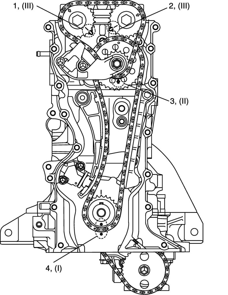 suzuki sx4 timing chain diagram