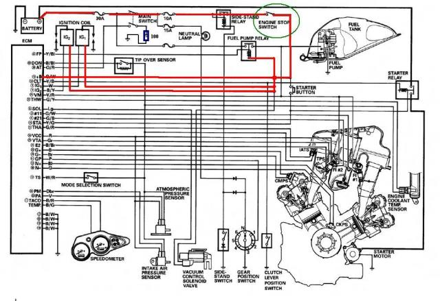WwCwXV on z1000 wiring diagram