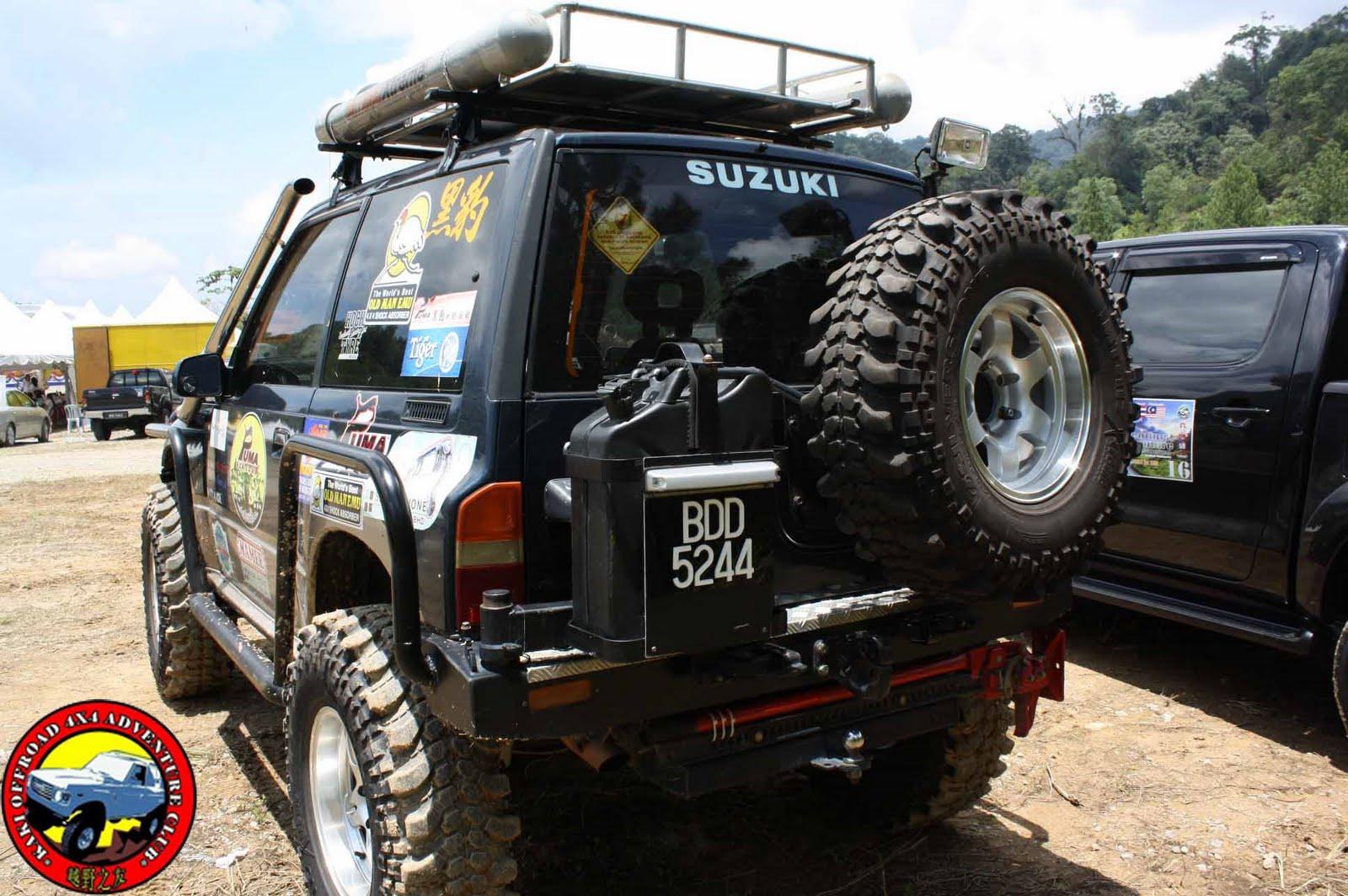Suzuki Grand Vitara Winch Bumper