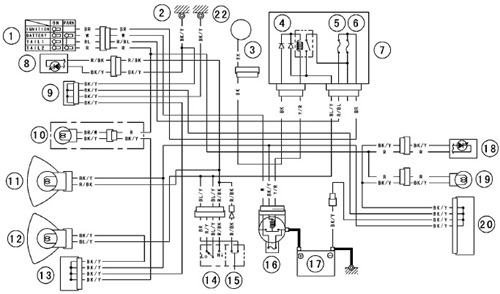 tail light wiring diagram BCDFGrU kawasaki vulcan 800 wiring diagram suzuki intruder 1400 wiring Typical RV Wiring Diagram at sewacar.co