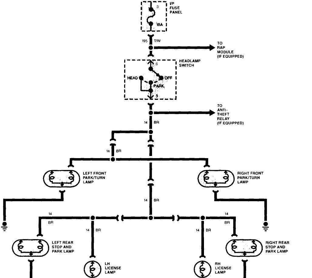 Tail Light Wiring Diagram Image Details Brake