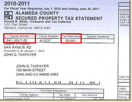 Tax Parcel Number
