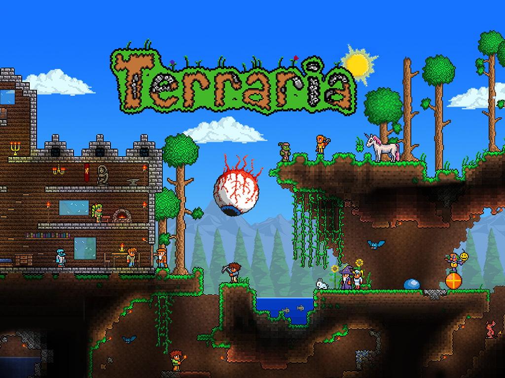 Terraria Houses