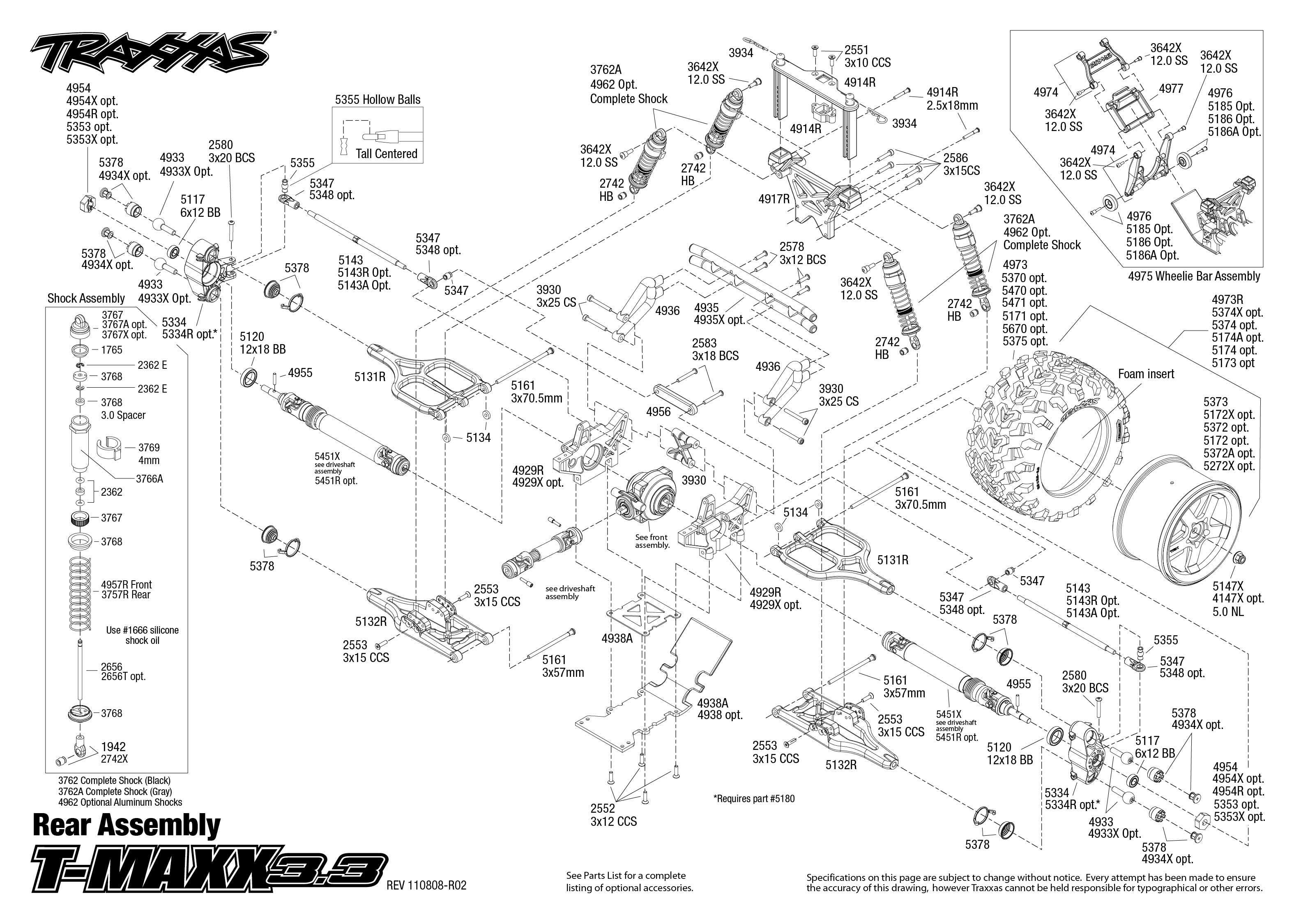 Revo 3 Wiring Diagram Library Traxxas Slash 4x4 Parts Lzk Gallery Likewise T Maxx Enthusiast Diagrams U2022 33 Performance