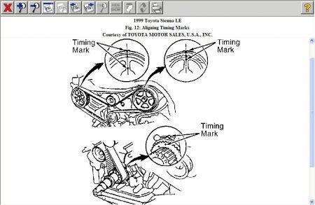 2006 Honda Ridgeline Timing Chain Alignment Show Marks