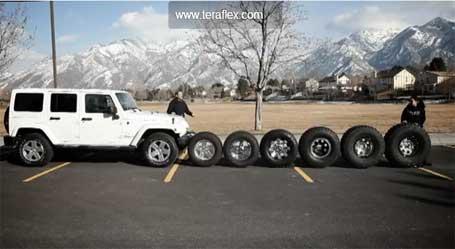 Tire Size On Stock Jk Jeep Wrangler
