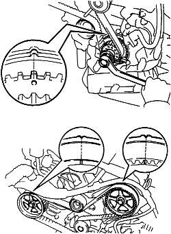 Toyota 3.0 V6 Engine Timing Belt