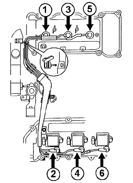 1998 Toyota Avalon Spark Plug Wire Diagram