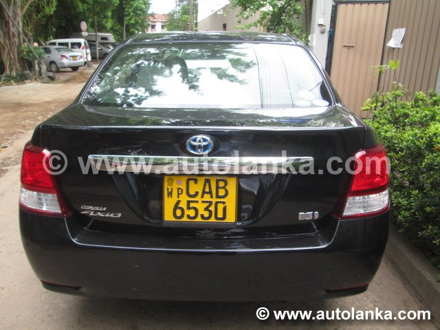 Toyota Corolla Axio Black