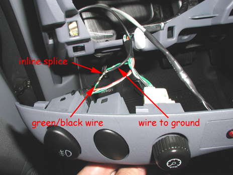 Toyota Fog Light Switch Wiring