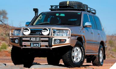 Toyota Land Cruiser Bull Bar