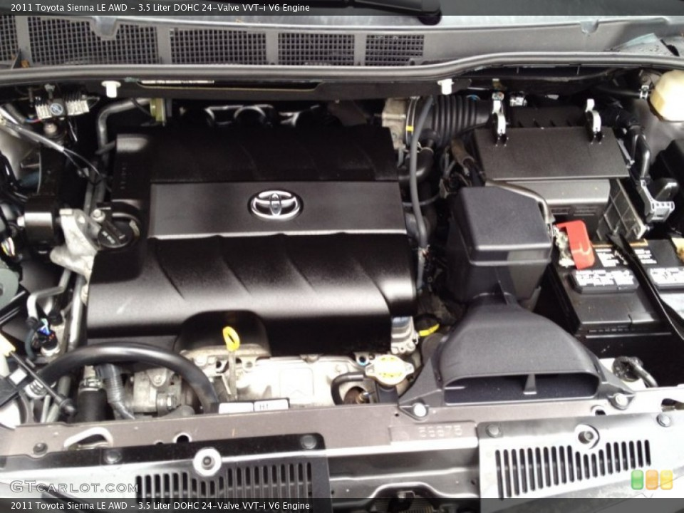 toyota sienna 3 5 2007 engine