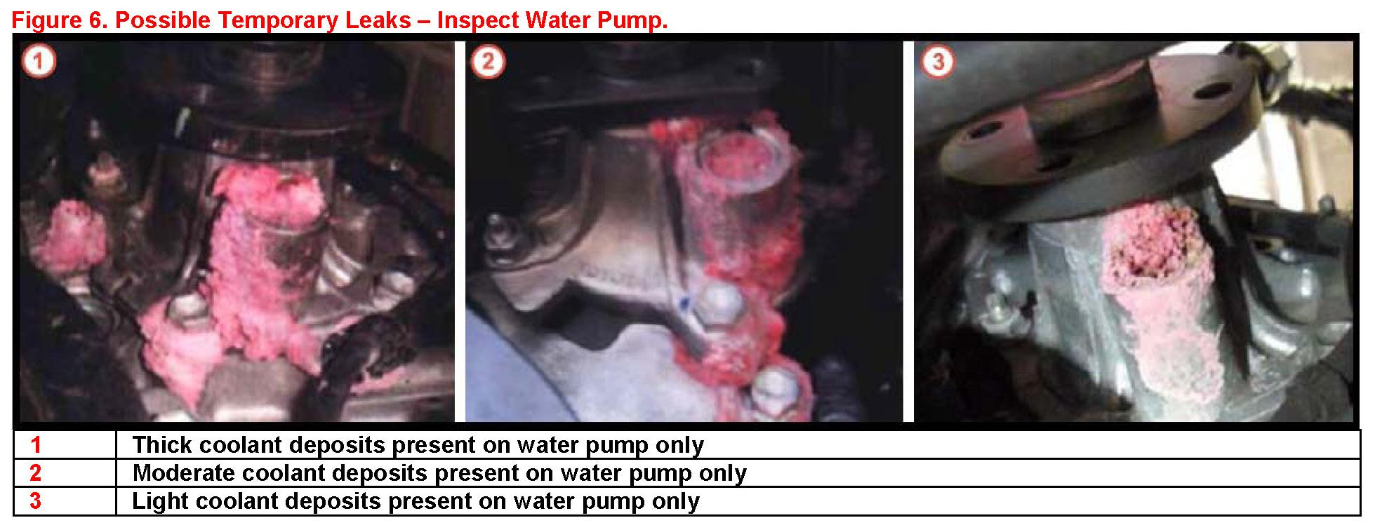 Toyota Tundra Water Pump Leak - image details