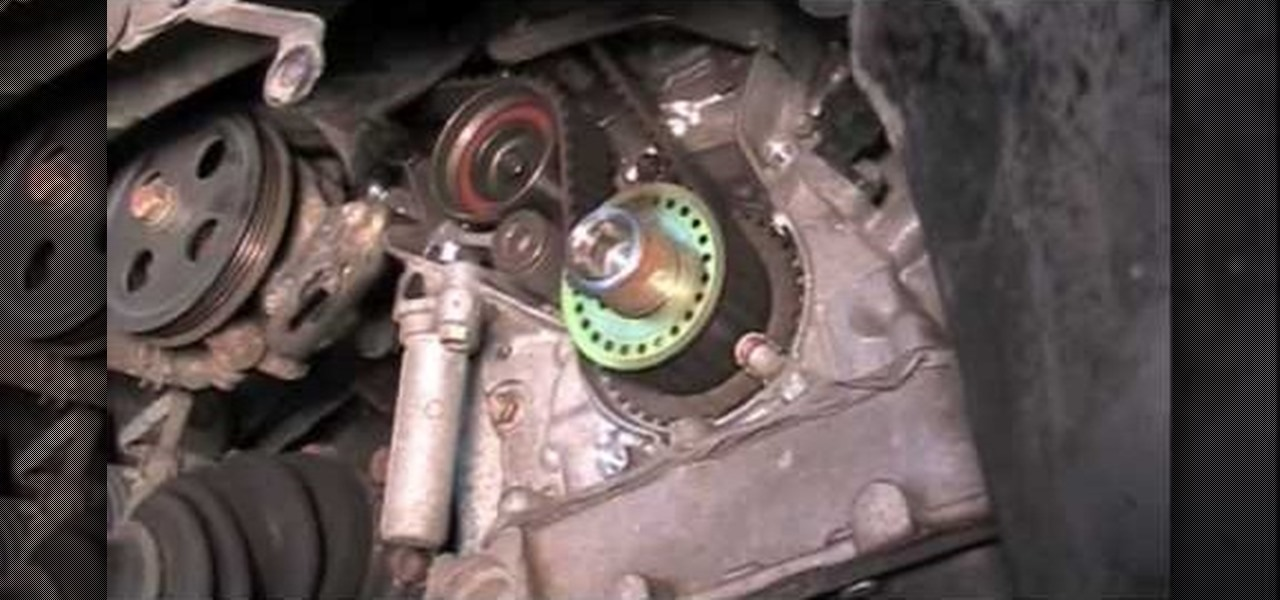 Toyota V6 Timing Belt Replacement