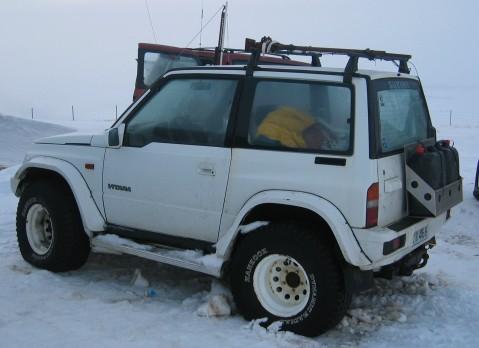 Tracker Suzuki Vitara