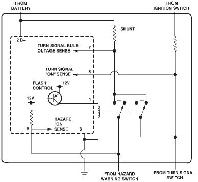 3pin Flasher Relay Wiring Diagram Image Details
