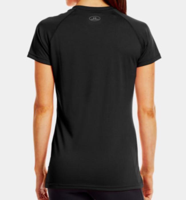 Under Armour Women's Tech Short Sleeve Tee (Black) 1228321001