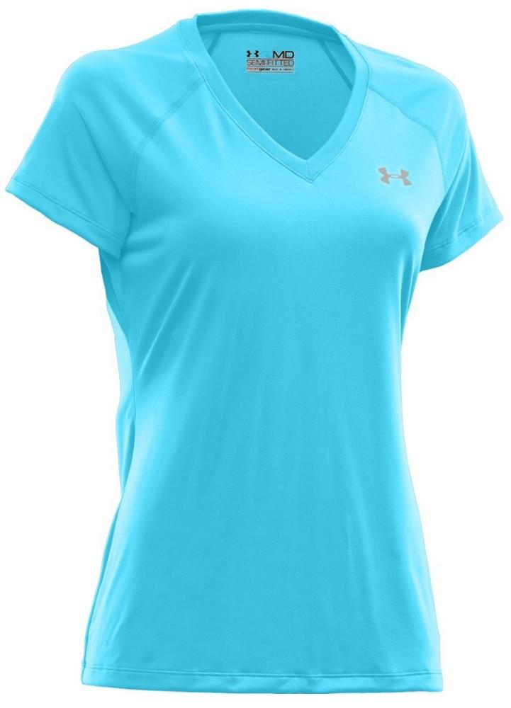 Under Armour Women's Tech Short Sleeve VNeck Shirt 1228321