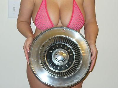Vintage Mercury Hubcaps