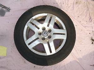 "Volkswagen Golf MK4 15"" Inch 195 65R 15 Steel Alloy Wheel With Tyre 5"
