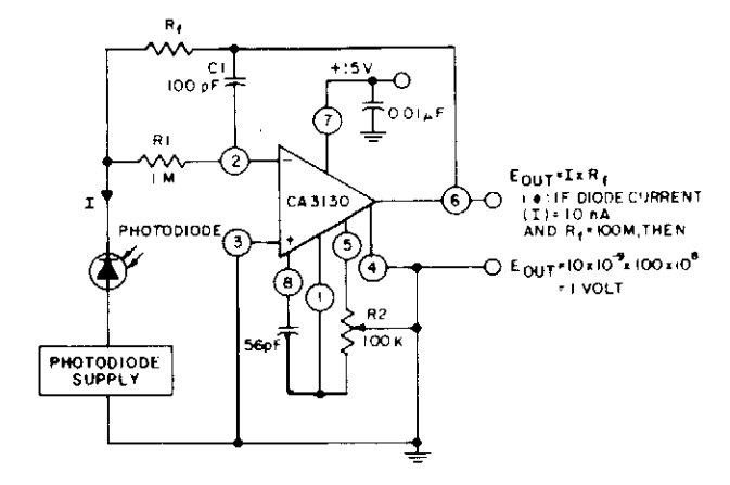 Voltage to Current Converter Op Amp Circuit