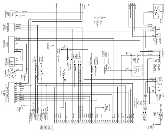 Volvo 850 1995 Wiring Diagram Schematic