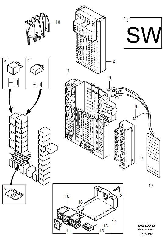 Volvo Electronic Control Module Location