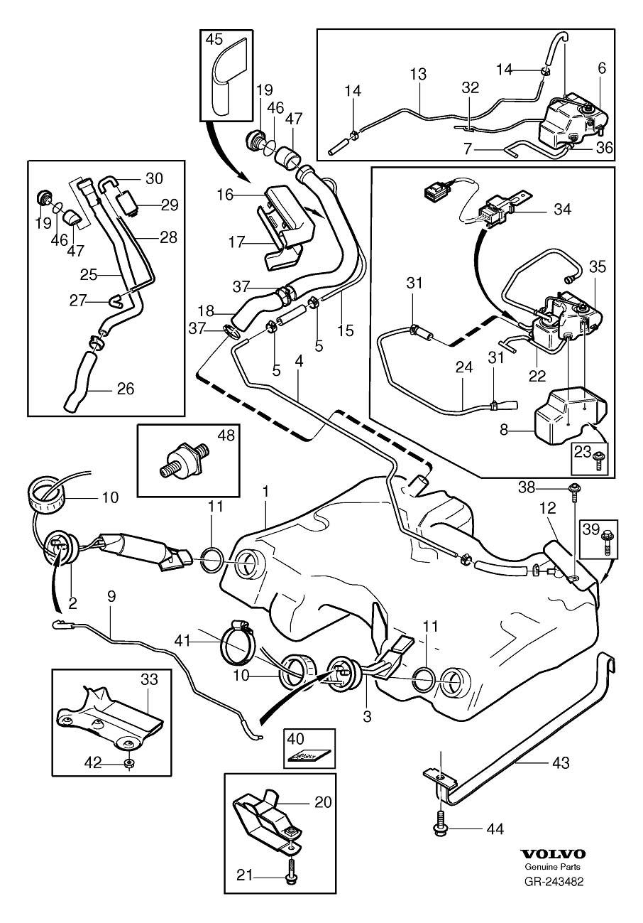 Dorable Volvo Fuel Pump Wiring Diagram Model - Electrical Diagram ...