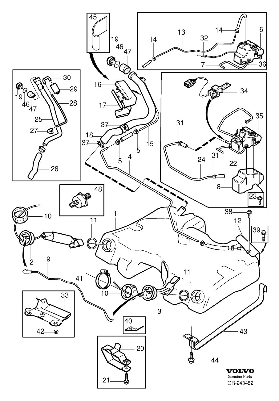 1991 240 Volvo Fuel Pump Wiring Diagram Library D16 Harness Failure