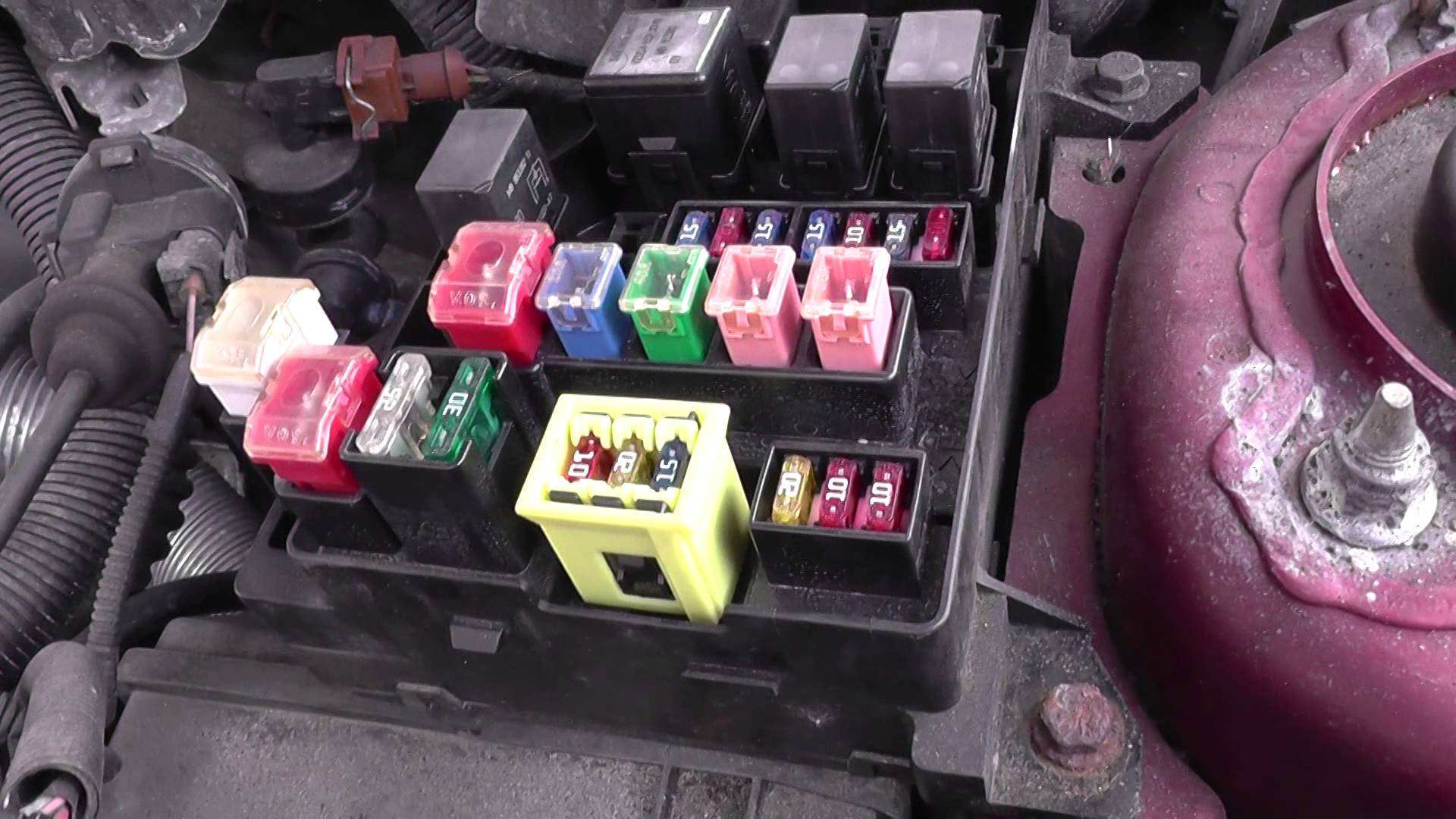 Volvo S40 Fuse & Relay Box Location Video  YouTube
