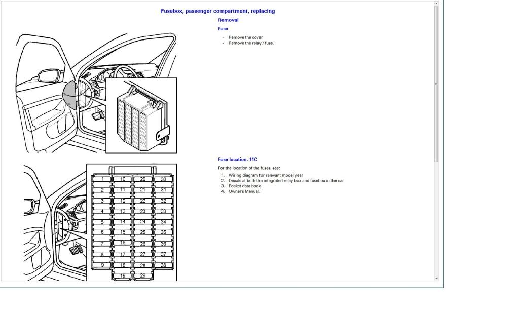 2006 volvo v70 fuse box diagram 2006 wiring diagrams online
